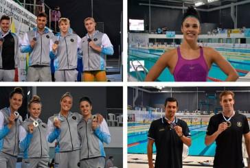 Día récord de Argentina en el Sudamericano de Natación con 12 medallas: 4 de oro, 3 de plata y 5 de bronce