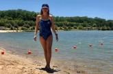 Estuvo seis años postrada en una cama por una rara enfermedad y ahora se prepara para nadar 21 kilómetros en aguas abiertas